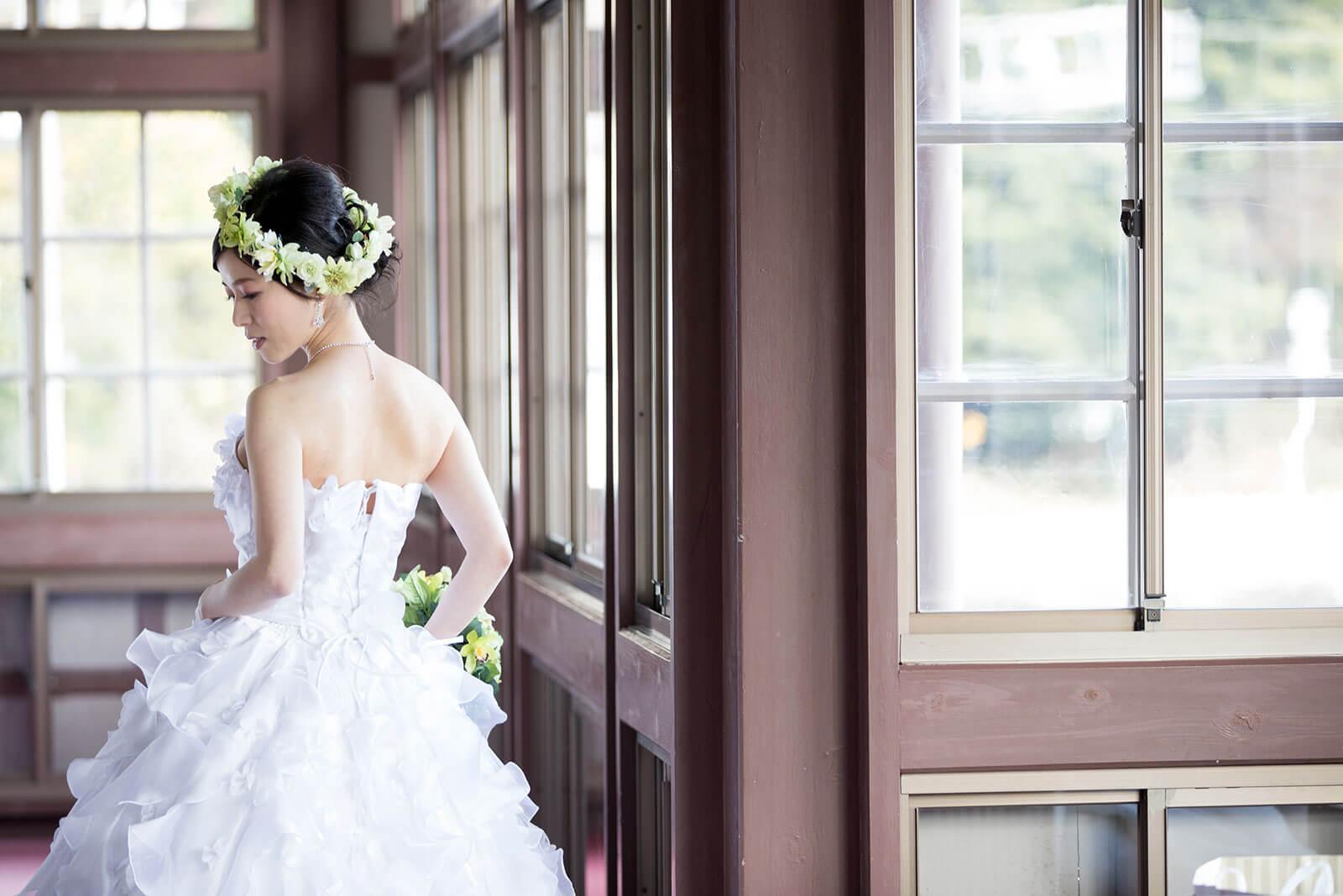 前撮り 鹿児島 異人館 ドレス