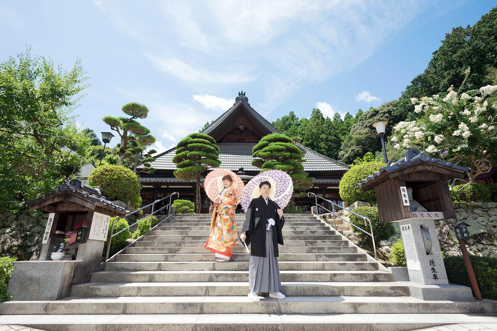 山口 瑠璃光寺前撮りプラン