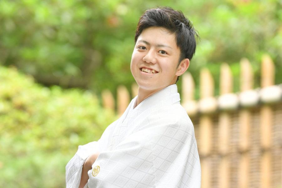 紋付袴レンタル+ロケーション撮影プラン