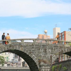 前撮り 長崎 めがね橋 和装