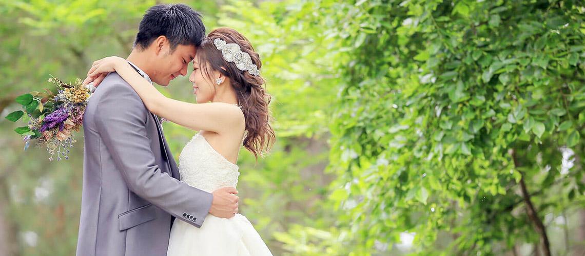 花嫁の髪型集
