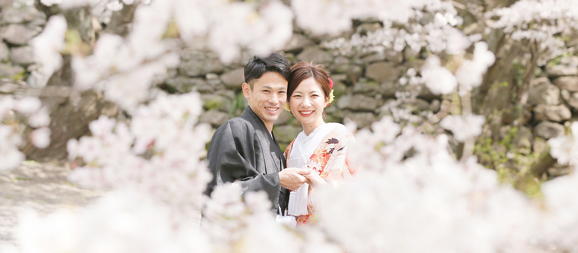 桜前撮り撮影